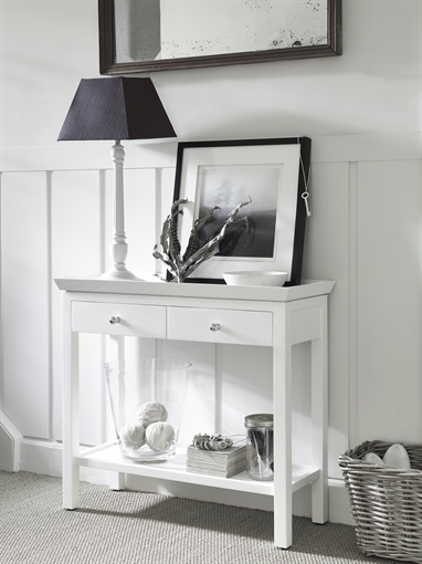 Neptune Aldwych Console Table Small Snow Living