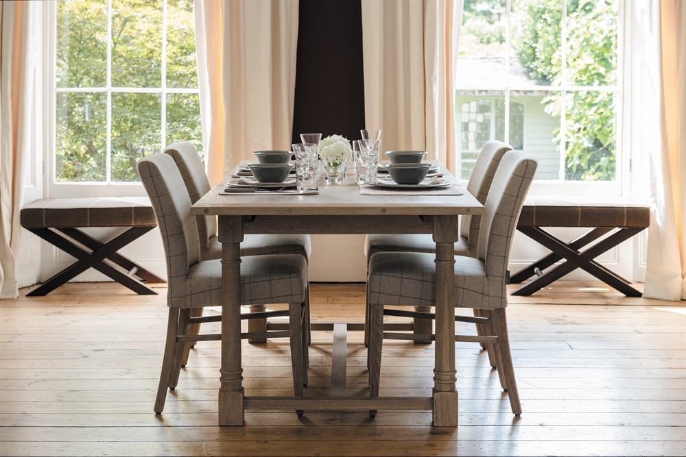 neptune edinburgh 8 12 seater extending dining table