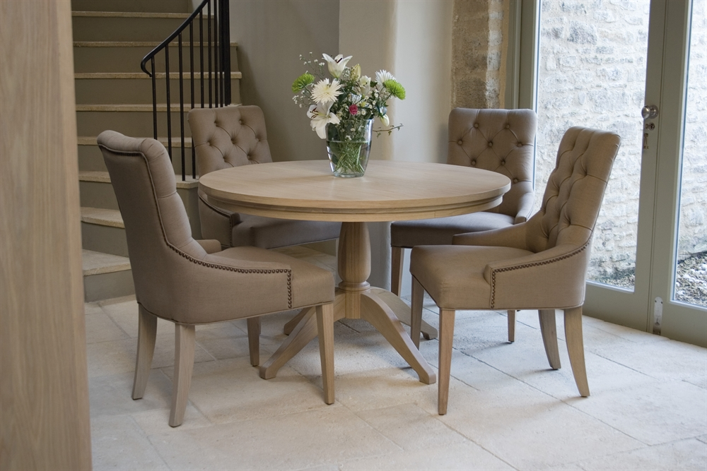 Neptune Henley Round Dining Table Room Furniture
