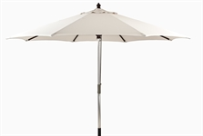Spinnaker 3.5m Round Parasol, Natural