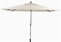 Spinnaker 3x2m Rectangular Parasol, Natural