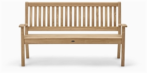 Canterbury Wave Back 5ft Bench