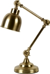 Brompton Desk Light, Antique Brass