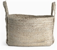Arbroath Rectangular Jute Basket, Large