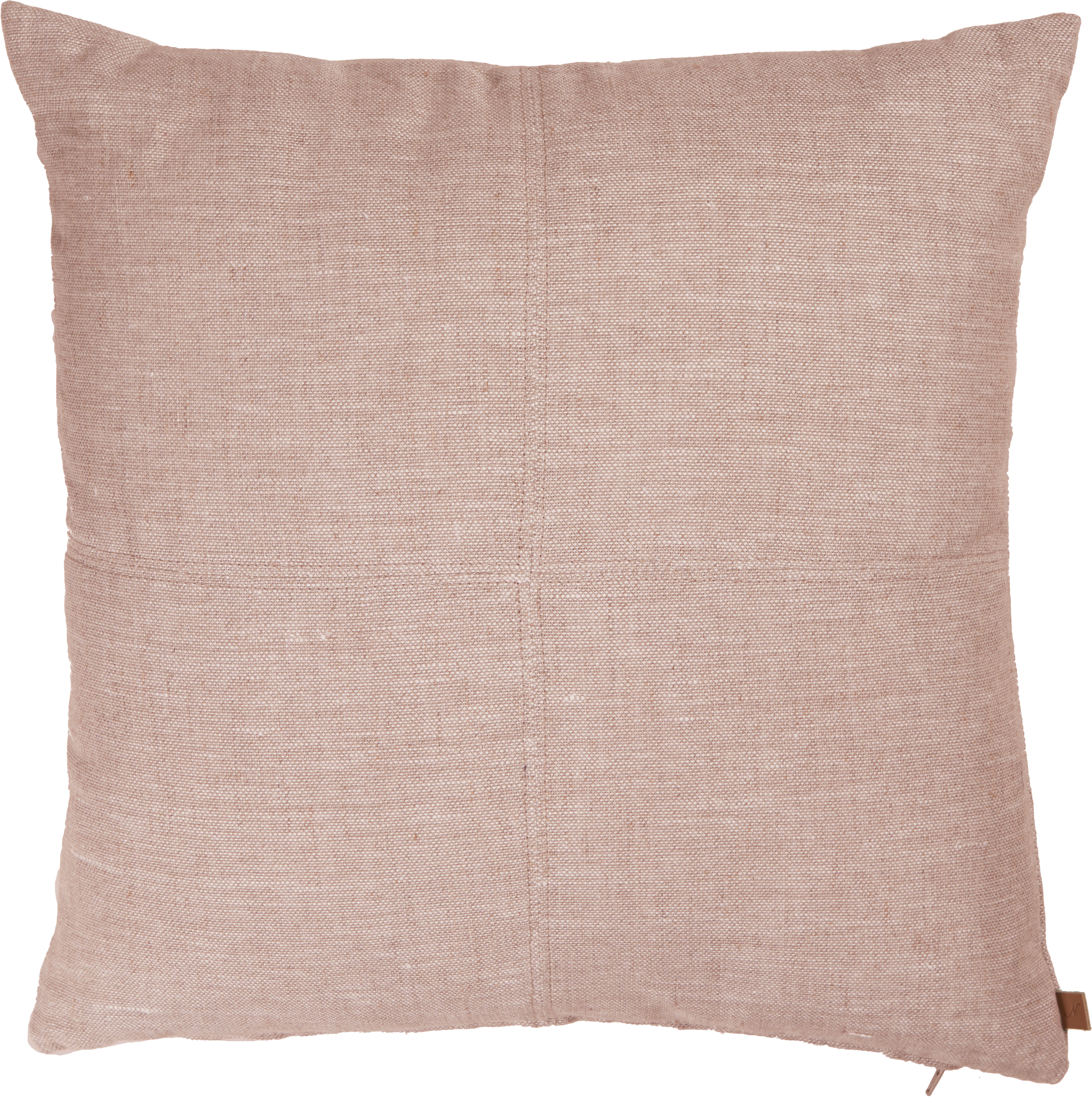 Beatrice Cushion 43x43cm, Imogen Oyster Pink