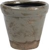 Sage Terracotta Pot, Smoke