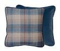 Camilla  Cushion 45x45cm, Lorne Teal & Kingfisher