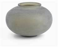 Alconbury Round Vase, Small - Grey
