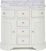 Chichester Undermount Curved Washstand