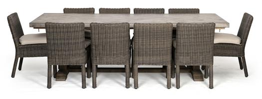 Hove 8 Seater Rectangular Set