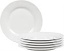 Fenton Side Plates, set of 6, White