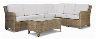 Compton Modular 6 Seater Corner Sofa & Coffee Table