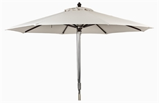 Spinnaker 3m Round Parasol, Natural