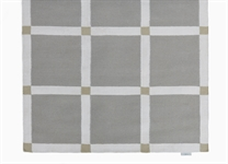 Burford Flatweave Rug, Gull Grey