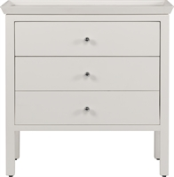 Aldwych 2 Drawer Chest, Snow