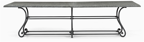 Cheltenham 280 Rectangular Table - Metal & Graniite