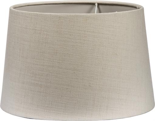 Lucilelampshade silver grey silk