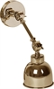 Brompton Wall Light, Small, Antique Brass