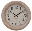 Harrison Wall Clock, Seasoned Oak
