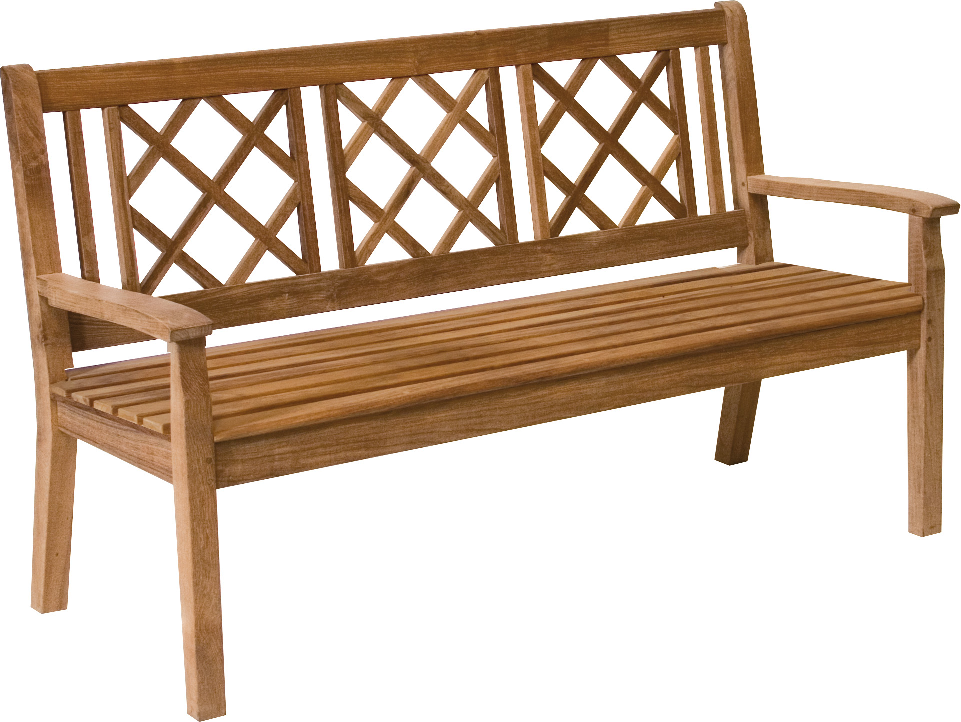 Canterbury Lattice Back 5ft Bench