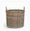 Somerton Round log basket, medium