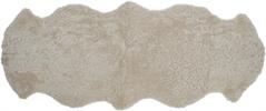 Tussock Sheepskin Rug, Double, Pearl