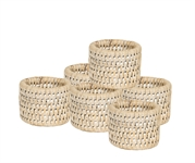 Ashcroft Napkin Rings, set of 6