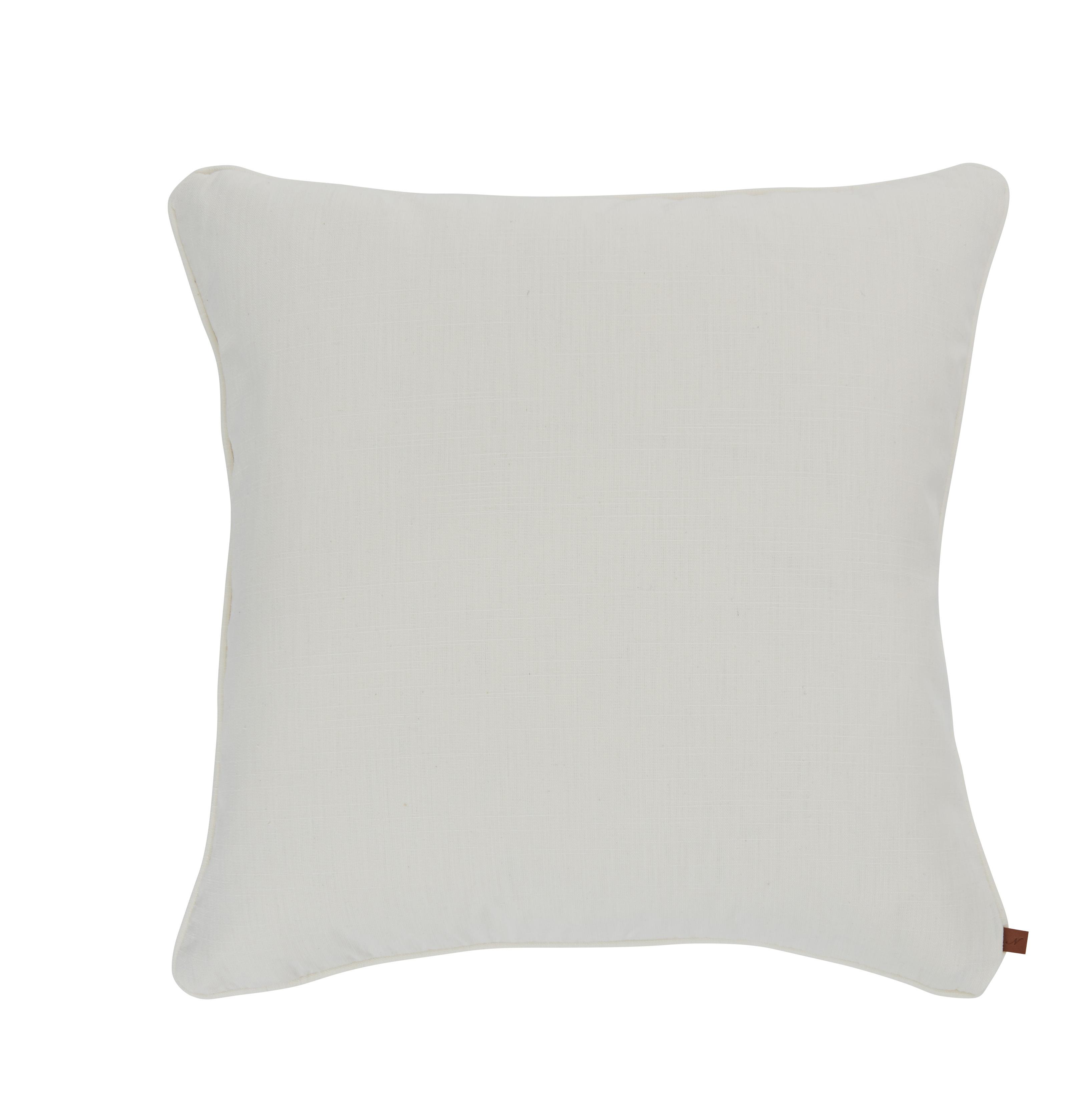 Florence Cushion 57x57cm, Clara Warm White