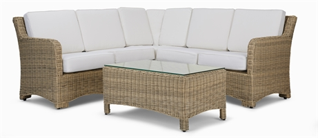 Compton Modular 5 Seater Corner Sofa & Coffee Table