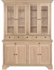 Henley 5ft Glazed Rack Dresser