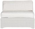 Tresco Large Mid Section Seat & Back Cushion, Oatmeal