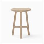 Northwich Round Stool - Natural Oak