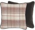 Camilla Cushion 45x45cm, Lorne Rust & Isla Grouse