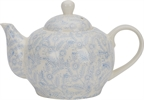 Olney Teapot, Flax Blue