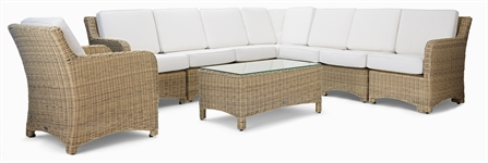 Compton Modular 8 Seater Corner Sofa & Coffee Table