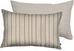 Delilah Cushion 35x55cm, Jack Mustard & Imogen Holkham Sand