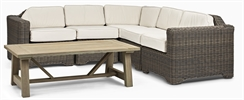 Tresco Corner Sofa 5 Seater & Stanway Coffee Table
