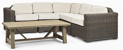 Tresco Corner Sofa 5 Seater & Stanway Coffee Table