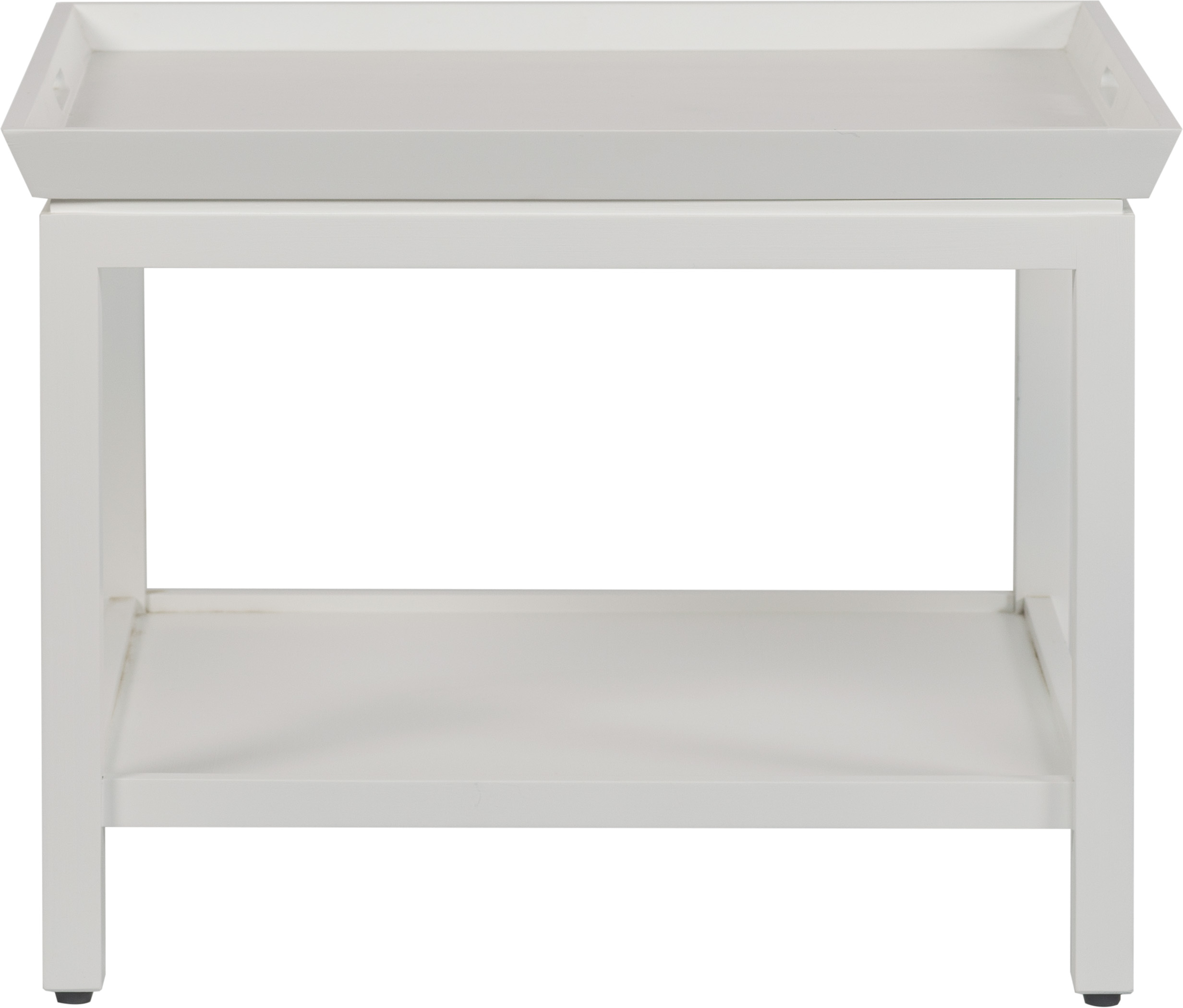 Aldwych Low Side Table, Snow