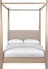 Wardley four poster bed, oak