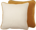 Camilla Cushion 45x45cm, Isla Finch & Hugo Pale Oat