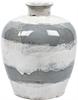 Ellingham Round Vase, Fog