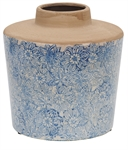 Thursfield Medium Vase, Flax Blue