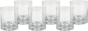 Mayfair Low Ball Glasses, set of 6