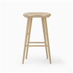 Ludlow Bar Stool - Natural Oak