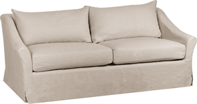 Long Island Medium Sofa Cover, Pale Oat