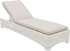 Compton Sunlounger Cushion, Oatmeal