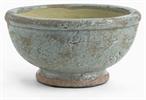 Broseley Footed Pot, Moss