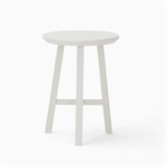 Northwich Round Stool - Silver Birch