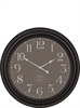 Harrison Wall Clock, Antique Black